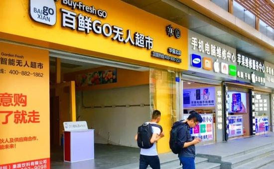 Cửa hàng tiện lợi tự động phá sản hàng loạt tại Trung Quốc