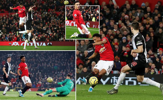"""Man Utd 4-1 Newcastle: Quỷ đỏ thôi """"phát quà"""""""