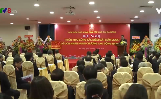 Viện KSND cấp cao tại Đà Nẵng đón nhận Huân chương Lao động hạng nhất