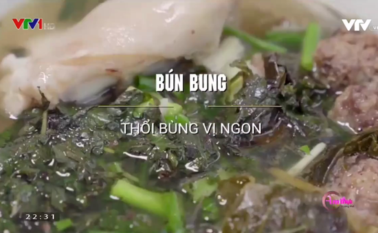 Thưởng thức bún bung - đặc sản Thái Bình