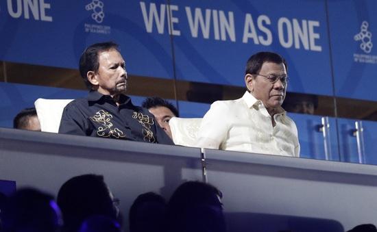 Lời xin lỗi các đoàn thể thao tham dự SEA Games của Tổng thống Philippines
