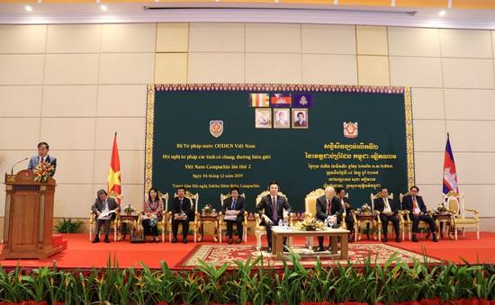 Hội nghị Tư pháp các tỉnh biên giới Việt Nam - Campuchia