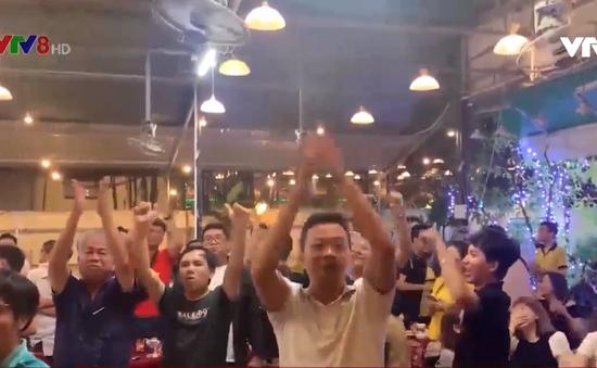 Tâm trạng người hâm mộ sau trận bóng đá Việt Nam - Singapore