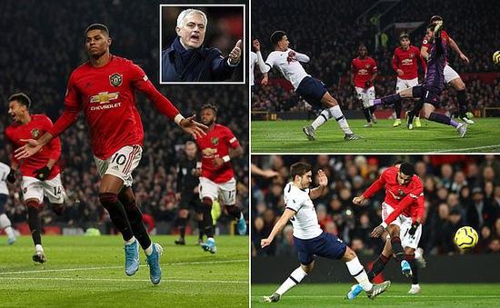 Man Utd 2-1 Tottenham: Ngày trở về không như ý của Mourinho
