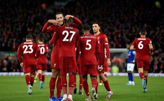 Liverpool 5-2 Everton: Chiến thắng dễ dàng