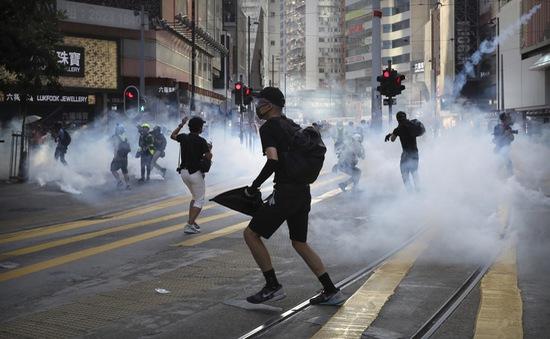 Cảnh sát Hong Kong cho phép tiến hành cuộc biểu tình lớn