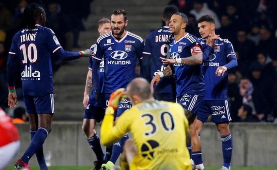 Kết quả, lịch thi đấu và BXH vòng 17 Ligue 1: Lille 1 - 0 Brest, Nimes 0 - 4 Lyon