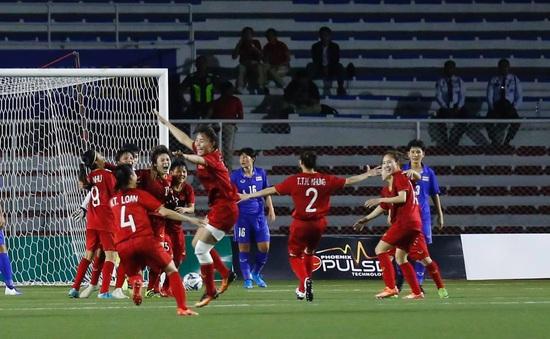 ĐT nữ Thái Lan 0-1 ĐT nữ Việt Nam: Chiến thắng nghẹt thở, tấm HCV cảm xúc!