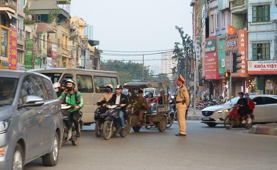 Xử lý gần 3.000 trường hợp vi phạm giao thông tại cửa ngõ Thủ đô trong 3 tháng cao điểm