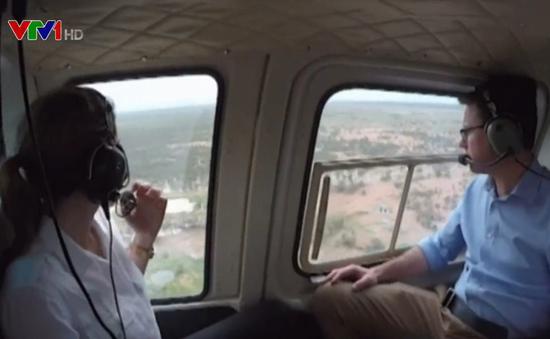 Australia cam kết giúp nông dân khắc phục hậu quả lũ lụt