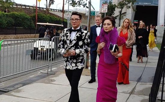 Đàm Vĩnh Hưng mặc nguyên cây hiệu lần đầu tham dự lễ trao giải Grammy