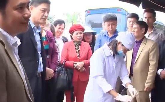 Kiểm tra an toàn thực phẩm tại các lễ hội lớn tỉnh Nam Định