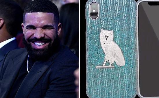 Siêu sao hip-hop Drake chi hơn 9 tỷ đồng... làm ốp lưng cho iPhone X