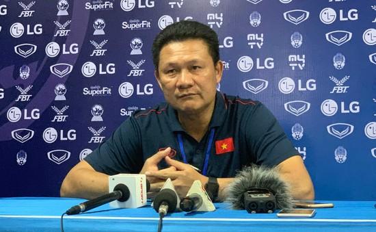 HLV Nguyễn Quốc Tuấn: 2 tiền đạo dự bị ghi bàn giúp U22 Việt Nam ngược dòng là tính toán của ban huấn luyện