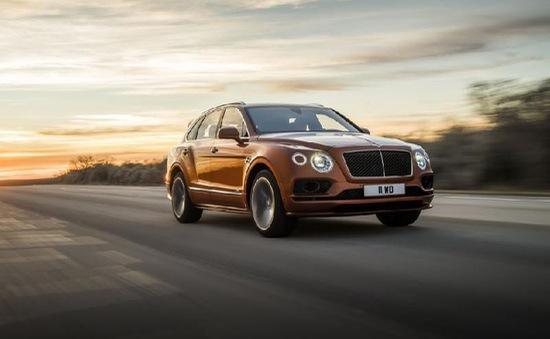 Ngắm chiếc SUV nhanh nhất thế giới - Bentley Bentayga Spreed