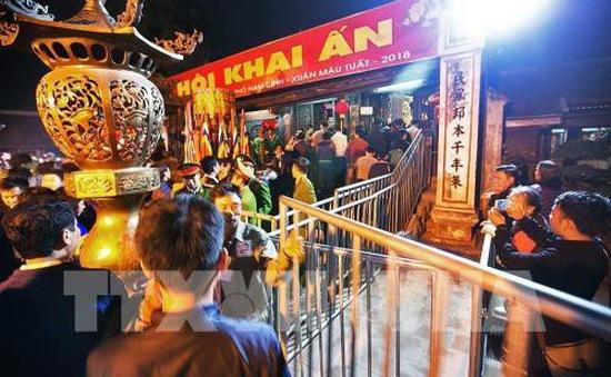 Phân luồng giao thông phục vụ lễ hội đền Trần