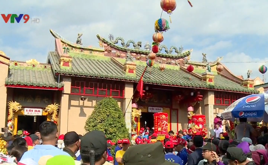 Lễ hội chùa Bà Bình Dương 2019: Văn minh, trật tự