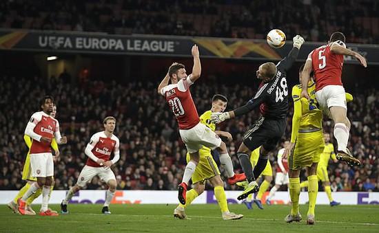 """Europa League: """"Sửa sai"""" thành công tại Emirates, Arsenal có vé vòng 1/8"""