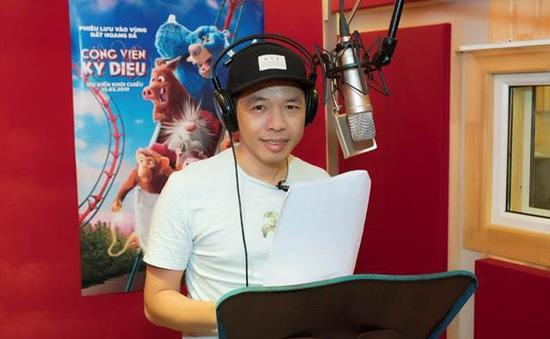 """Theo chân Thái Hòa vào studio lồng tiếng cho bom tấn hoạt hình """"Công viên kỳ diệu"""""""