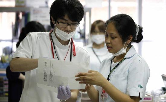 Nhật Bản nới lỏng yêu cầu đối với điều dưỡng viên nước ngoài