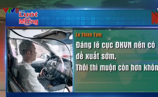 Cục đăng kiểm ủng hộ taxi lắp vách ngăn bảo vệ người lái
