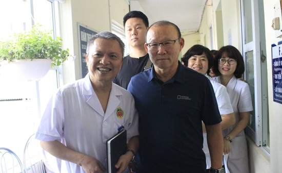 Huấn luyện viên Park Hang-seo được mời làm đại sứ thiện chí Chương trình Sức khỏe Việt Nam