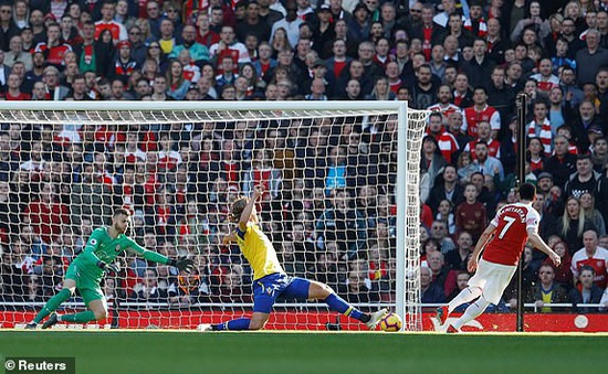 VIDEO Arsenal 2-0 Southampton: Chen chân vào Top 4