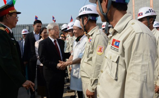 Phấn đấu năm 2020 Nhà Quốc hội Lào sẽ khánh thành