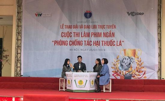 GLTT và Trao giải Cuộc thi làm phim ngắn về phòng chống tác hại thuốc lá