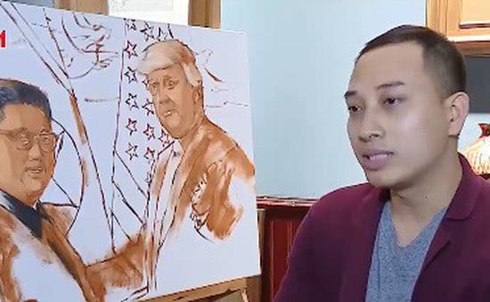 Họa sĩ và những bức tranh mang thông điệp hòa bình