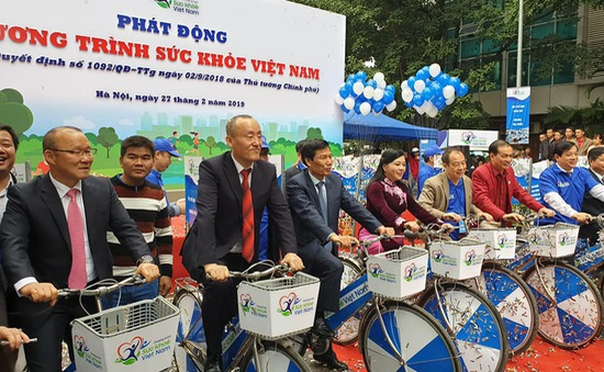 Thủ tướng phát động, kêu gọi toàn dân tham gia Chương trình Sức khỏe Việt Nam