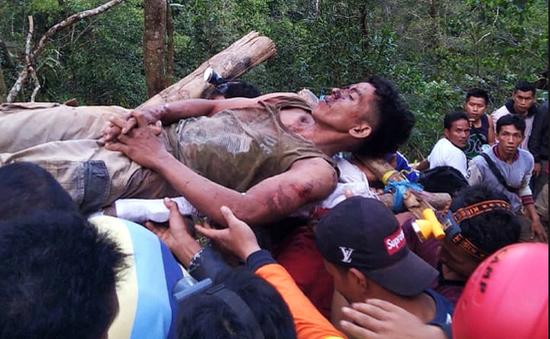Nỗ lực giải cứu nạn nhân vụ sập hầm mỏ ở Indonesia
