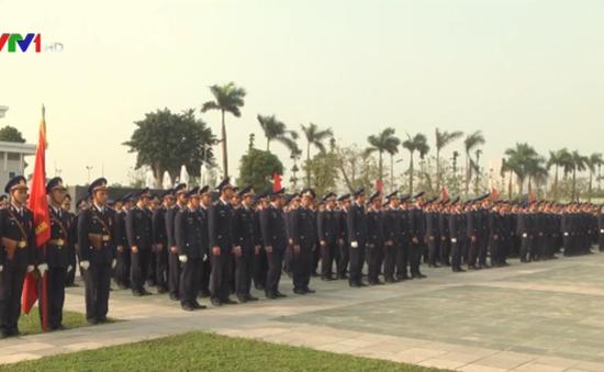 Ra quân huấn luyện Cảnh sát biển Việt Nam