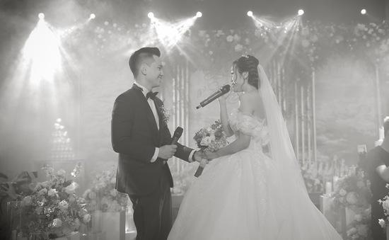 Những khoảnh khắc ngọt ngào tại đám cưới của MC Hoàng Quân