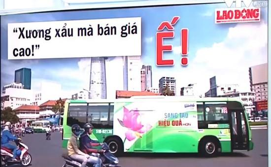 Ế quảng cáo trên xe bus vì bán giá cao