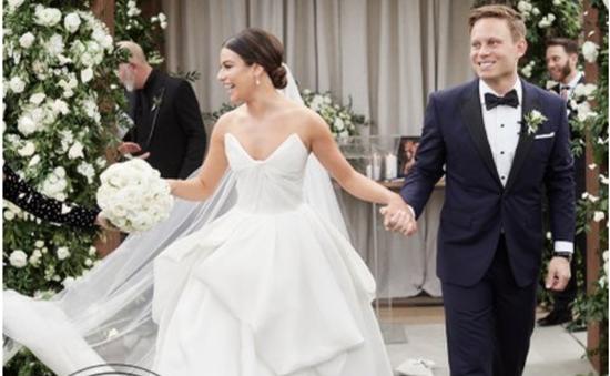 Ngôi sao Glee, Lea Michele, kết hôn cùng bạn trai doanh nhân