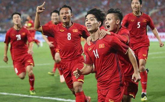 ĐT Việt Nam có thể tăng 1 bậc trên BXH FIFA tháng 4