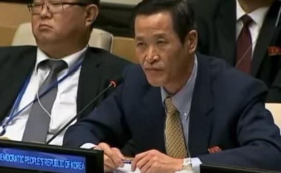 Triều Tiên yêu cầu LHQ xem xét lại nghị quyết trừng phạt