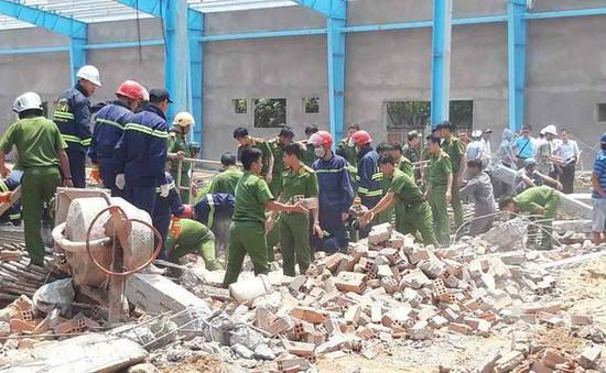 5 công nhân thiệt mạng do sập công trình xây dựng