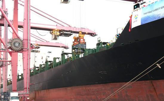 Đón tàu hàng 40.000 tấn cập cảng TP.HCM