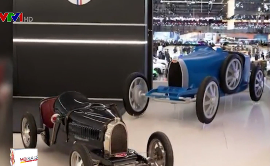 Bugatti sản xuất xe điện cho trẻ em