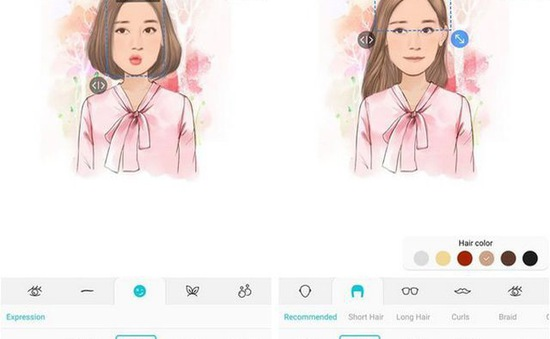 Tuyệt chiêu biến gương mặt của chính bạn thành nhãn dán động hài hước trên smartphone