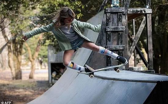 Ngôi sao trượt ván 9 tuổi đại diện nước Anh thi đấu Olympics