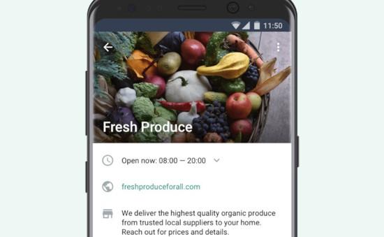 WhatsApp ra mắt ứng dụng hỗ trợ kinh doanh trên iOS