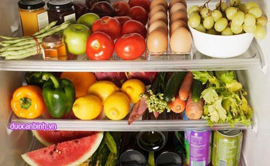 Những thực phẩm không nên bảo quản trong tủ lạnh
