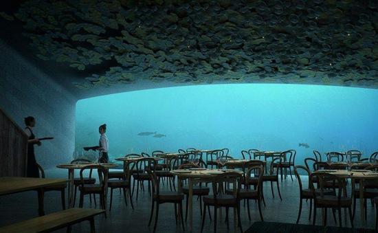 Nhà hàng dưới nước đầu tiên của châu Âu