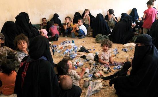 Tình cảnh con của các phiến quân IS