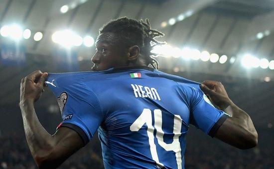 Sao trẻ Juventus lập kỷ lục ngay ở trận đầu tiên khoác áo ĐT Italy