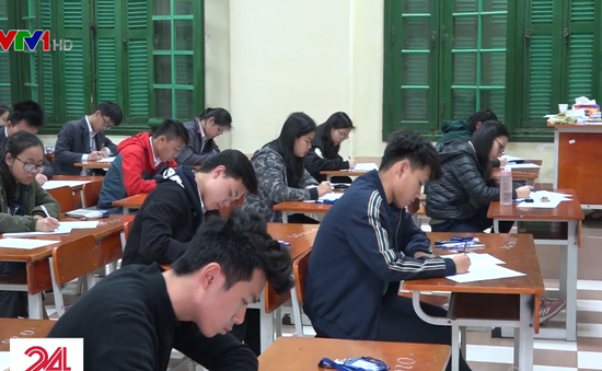 Hơn 100.000 học sinh Hà Nội thi thử THPT Quốc gia 2019