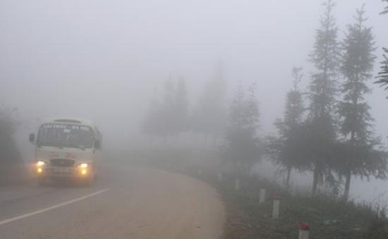 Sương mù gia tăng cả về diện và mức độ tại vịnh Bắc Bộ